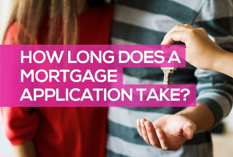 How long does a mortgage application take