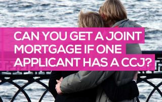 can i get a joint mortgage if my partner has a ccj